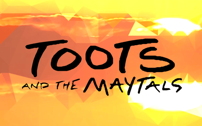 Toots and the Maytals logo from Got To Be Tough music video